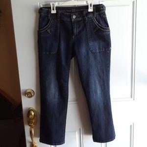 Simply Vera by Vera Wang sz 4 cropped denim jeans